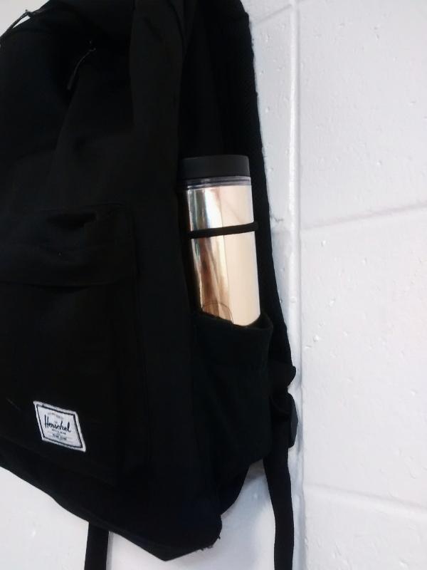 Exodus Treasures: DIY Backpack Bottle Holder