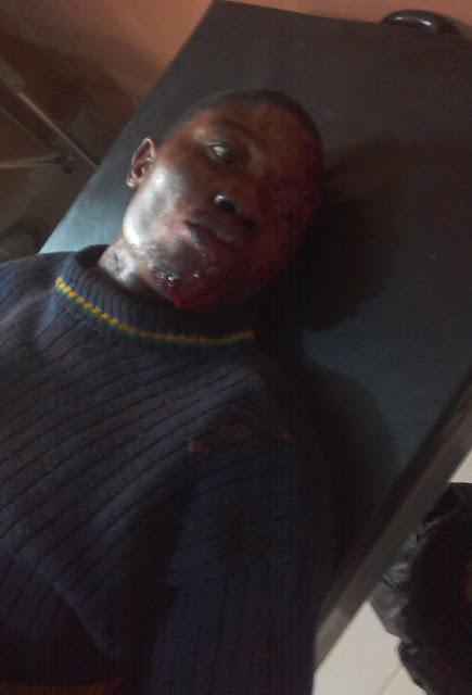 policeman stabbed soldiers ado ekiti