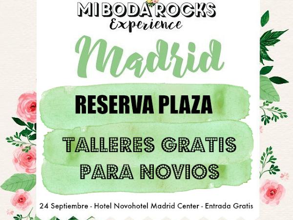 Talleres Gratis en Mi Boda Rocks Experience Madrid 2017
