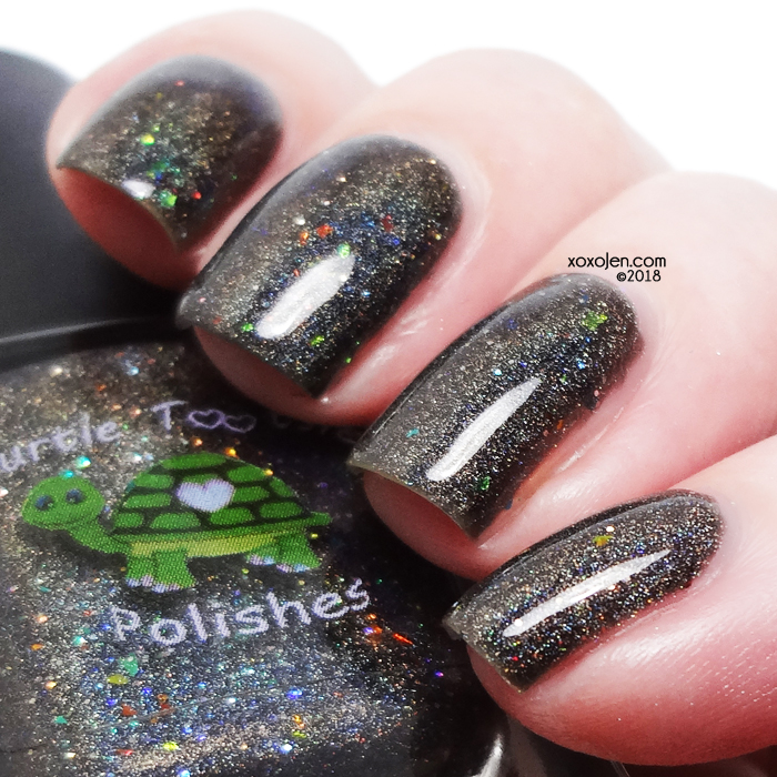 xoxoJen's swatch of Turtle Tootsie for Polish Pick Up: Sparky