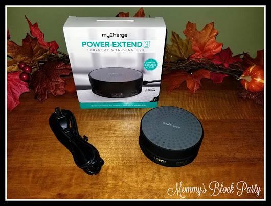 Keep Your Devices Charged & Organized with myCharge Power Extend 3 + myCharge #Giveaway #MBPHGG17