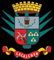 Escudo de Armas municipal: CACALCHÉN