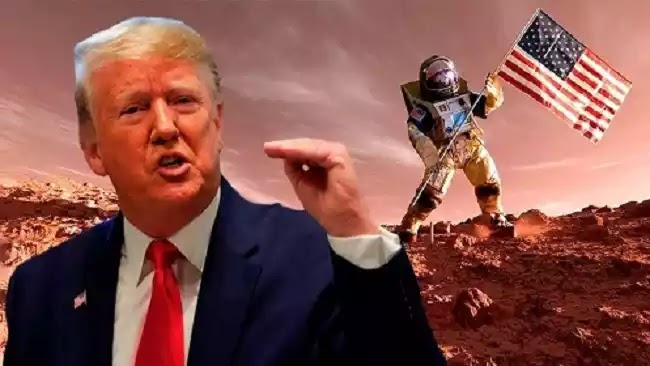 Donald Trump: Οι ΗΠΑ θα είναι το πρώτο έθνος που θα πατήσει στον Άρη