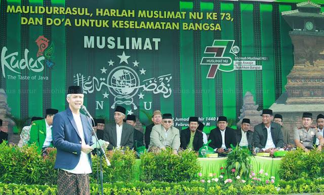 Harlah Muslimat, Gubernur Jateng: Yang Membuat Kita Luar Biasa adalah Ibu