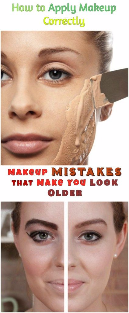How to Avoid Makeup Mistakes that Make You Look Older