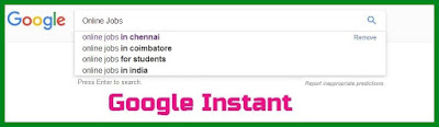Google Algorithm - #13 -Google Instant - New Search Signals of Google
