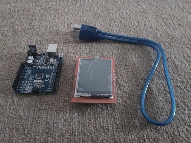 "Proyek Arduino 4 : Animasi Grafik Menggunakan 2.4"" TFT Touch Shield Arduino"