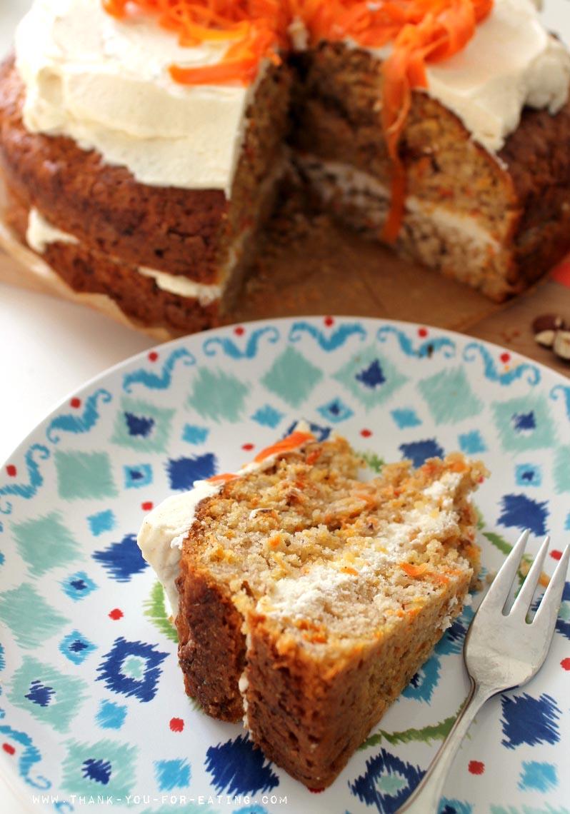 Karotten-Kuchen mit Ingwer Rezept