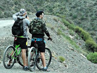 Ciclistas em Villavicencio 7 - Fotografando a Paisagem