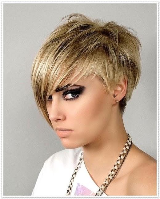 Trend Frisuren Damen Mittellang
