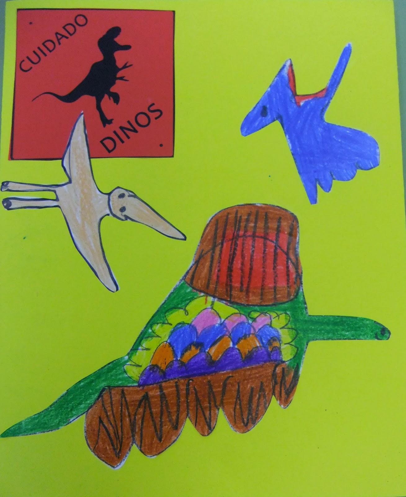 Infantiles   Dinosaurios Lapbook