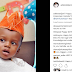 Adekoja Tijani Recently Took To His Instagram Page To Congratulate His son's Birthday(Photos)