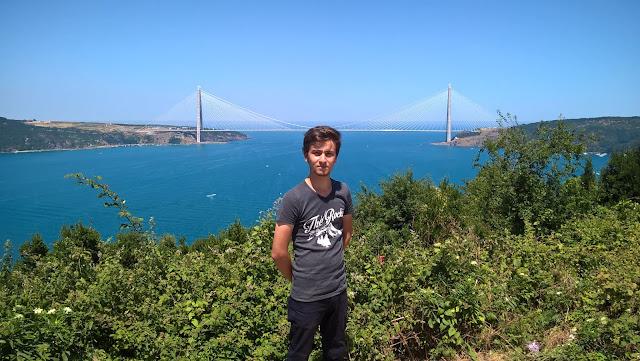 Harun İstenci Anadolu Kavağı Yavuz Sultan Selim Köprüsünde...