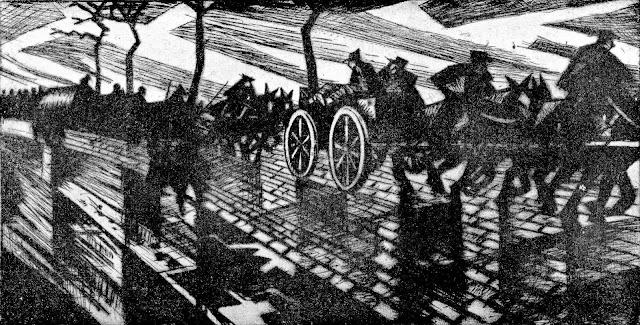 C R W Nevinson art 1917