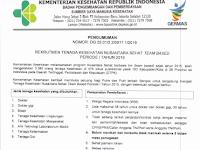 Rekrutmen Tenaga Kesehatan Nusantara Sehat Team Based Periode I Tahun 2019