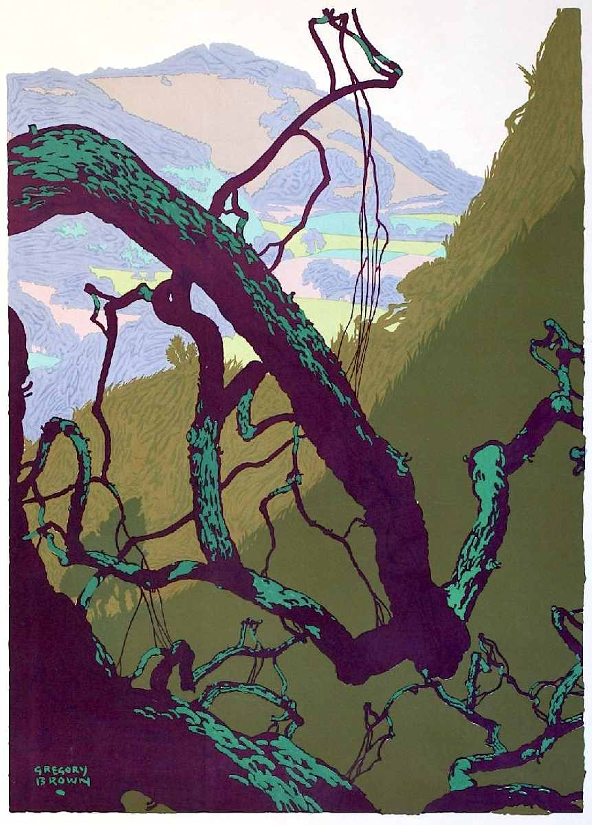 Gregory Brown travel poster art