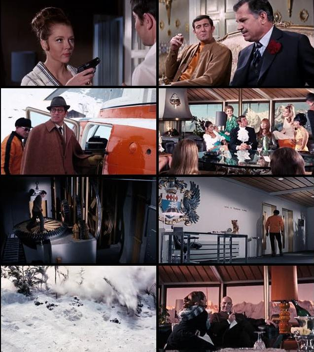 James Bond On Her Majestys Secret Service 1969 Dual Audio Hindi 720p BluRay
