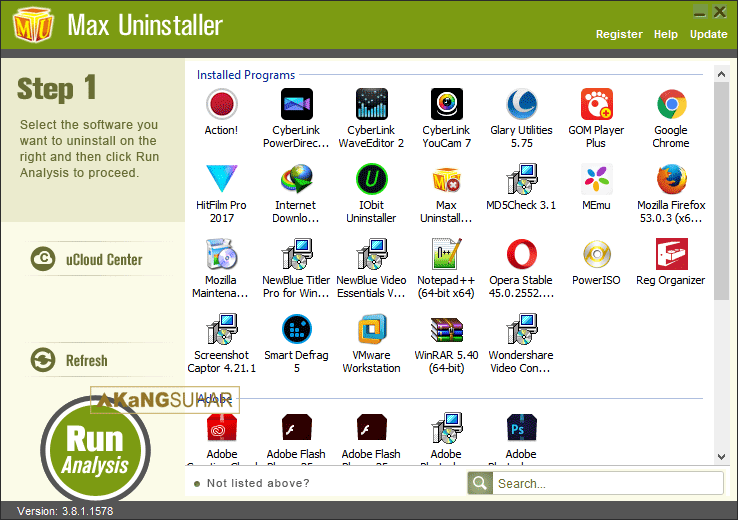 Download Max Uninstaller 3.8.1.1578 Final Full Terbaru