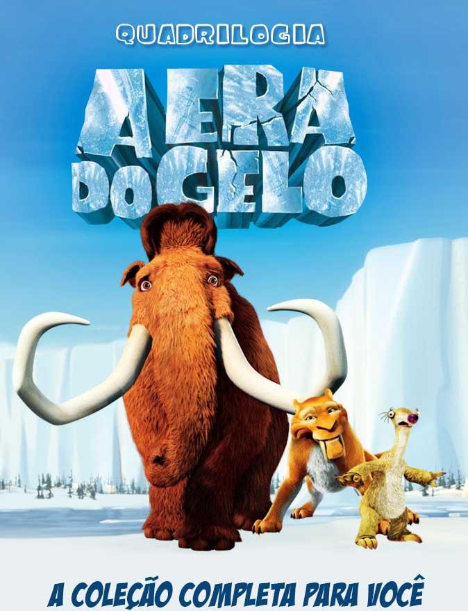 Quadrilogia A Era do Gelo Torrent – BluRay 1080p Dual Áudio (2002-2012)