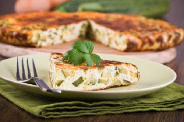 Tortilla de zapallitos zucchini