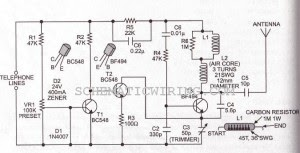 Wondrous Phone Broadcaster Electronic Circuit Diagram The Simplest Circuit Wiring Cloud Hisonuggs Outletorg