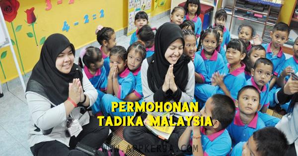 300 Kekosongan Jawatan kosong di Tadika Malaysia  - 12 Mei 2018