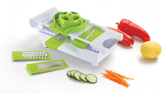 TODAY DEALS £11.00 Kuuk Mandoline and Grater Set – 6 in 1 – Limited time Deal