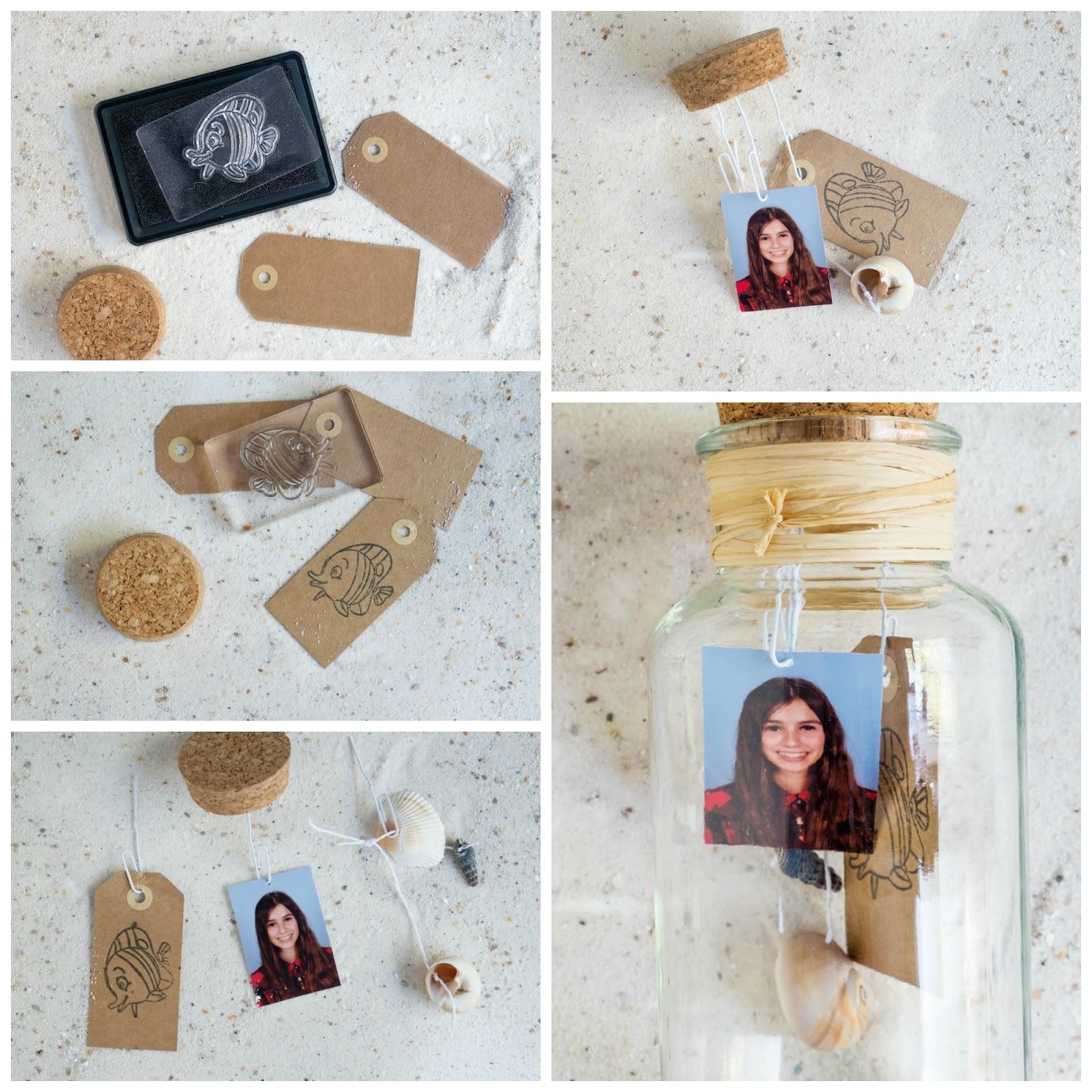 Hoe maak je foto's in een glazen pot als decoratie