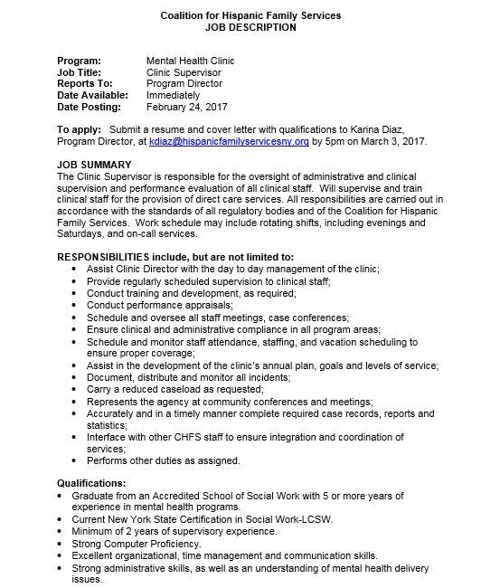 Elmhurst Community Partnership Program Jobs - mental health program manager resume