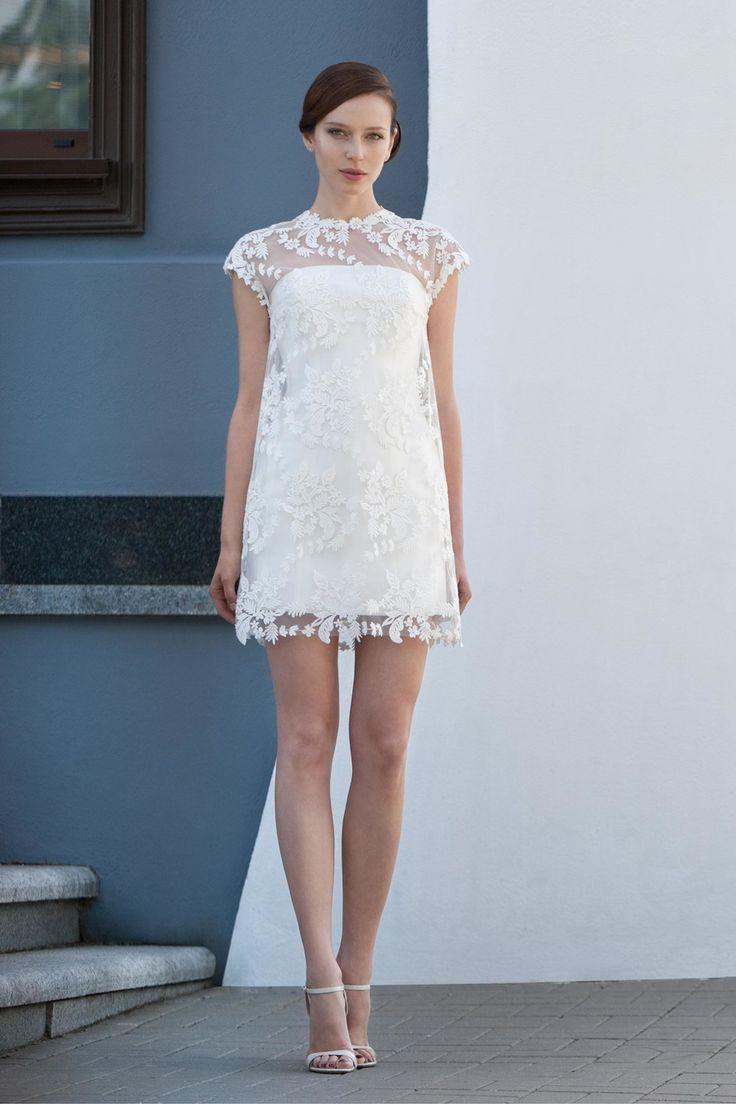 Vestidos de novia cortos ¡20 BELLOS DISEÑOS CON FOTOS! | Somos Novias