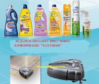 Logo Con Emulsio vinci Robot Aspirapolvere Electrolux e kit di prodotti