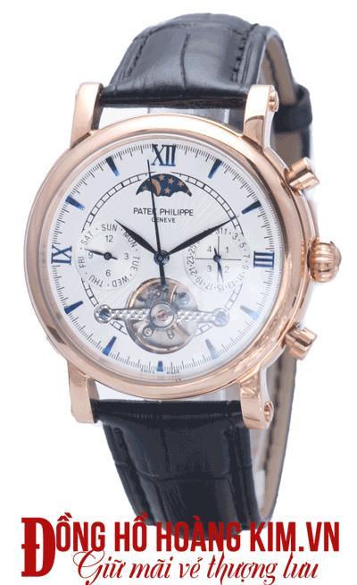 mua đồng hồ đeo tay nam dây da thời trang