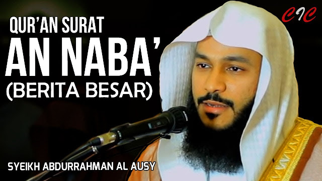Download Surat An Naba Abdurrahman AL Ausy Mp3