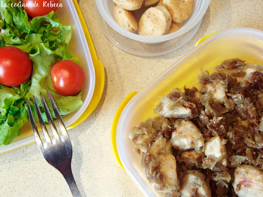 La cocina de Rebeca: Pollo encebollado