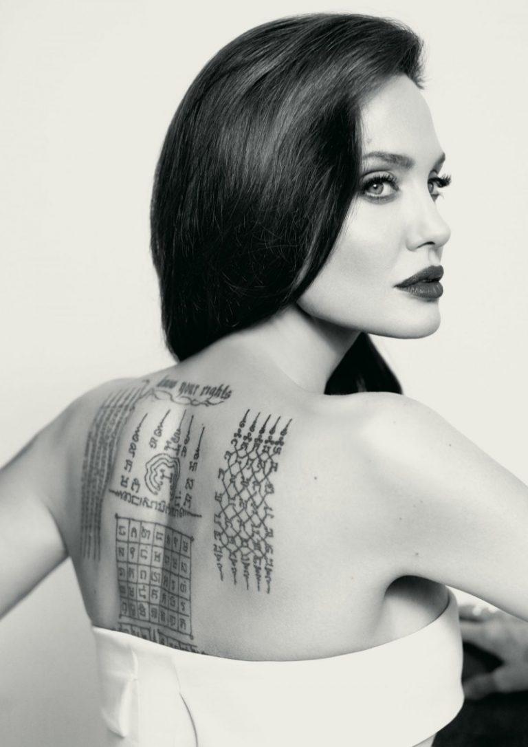Angelina Jolie stars in Mon Guerlain Eau de Parfum Florale campaign