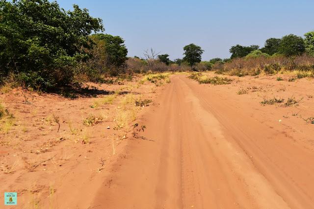 Carreteras de Botswana