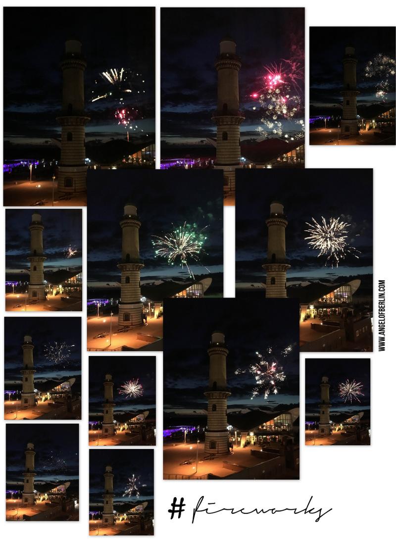 fireworks, lighthouse, Rostock-Warnemünde, Feuerwerk, Leuchtturm