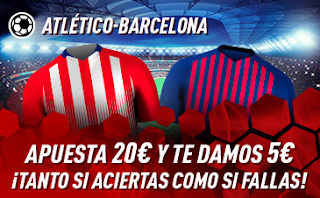 sportium Promo Atlético vs Barcelona 24 noviembre