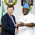 Photogist: British High Commissioner, Paul Arkwright Visits Governor Ambode