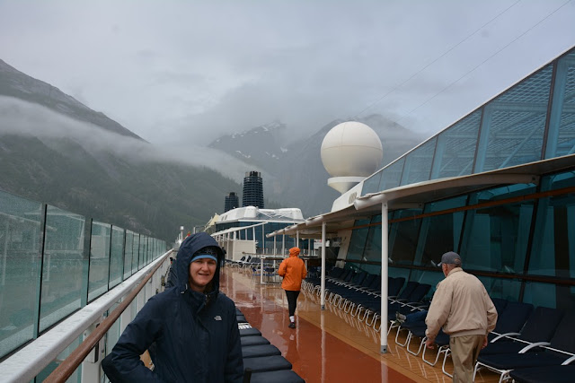 Tracy Arm on deck
