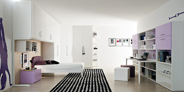Chambre ado fille design - Chambre moderne ado ...