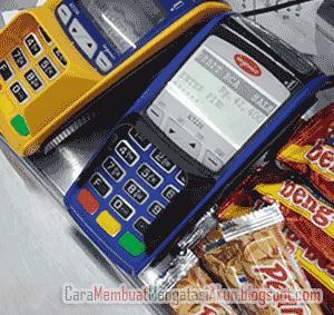 cara belanja di Indomaret pakei kartu debit BCA