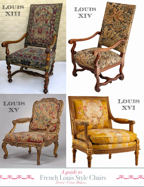 Guide to French Louis Chairs