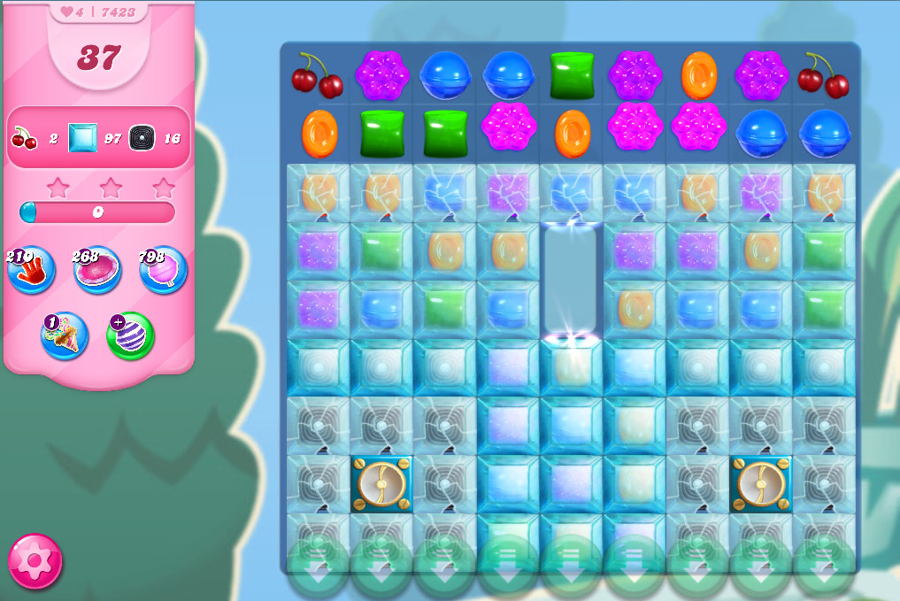 Candy Crush Saga level 7423
