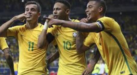 Brasil usará seus dois uniformes na fase de grupos da Copa
