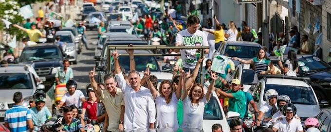 Carreata de Lucélio percorre mais de 50 ruas em Campina Grande