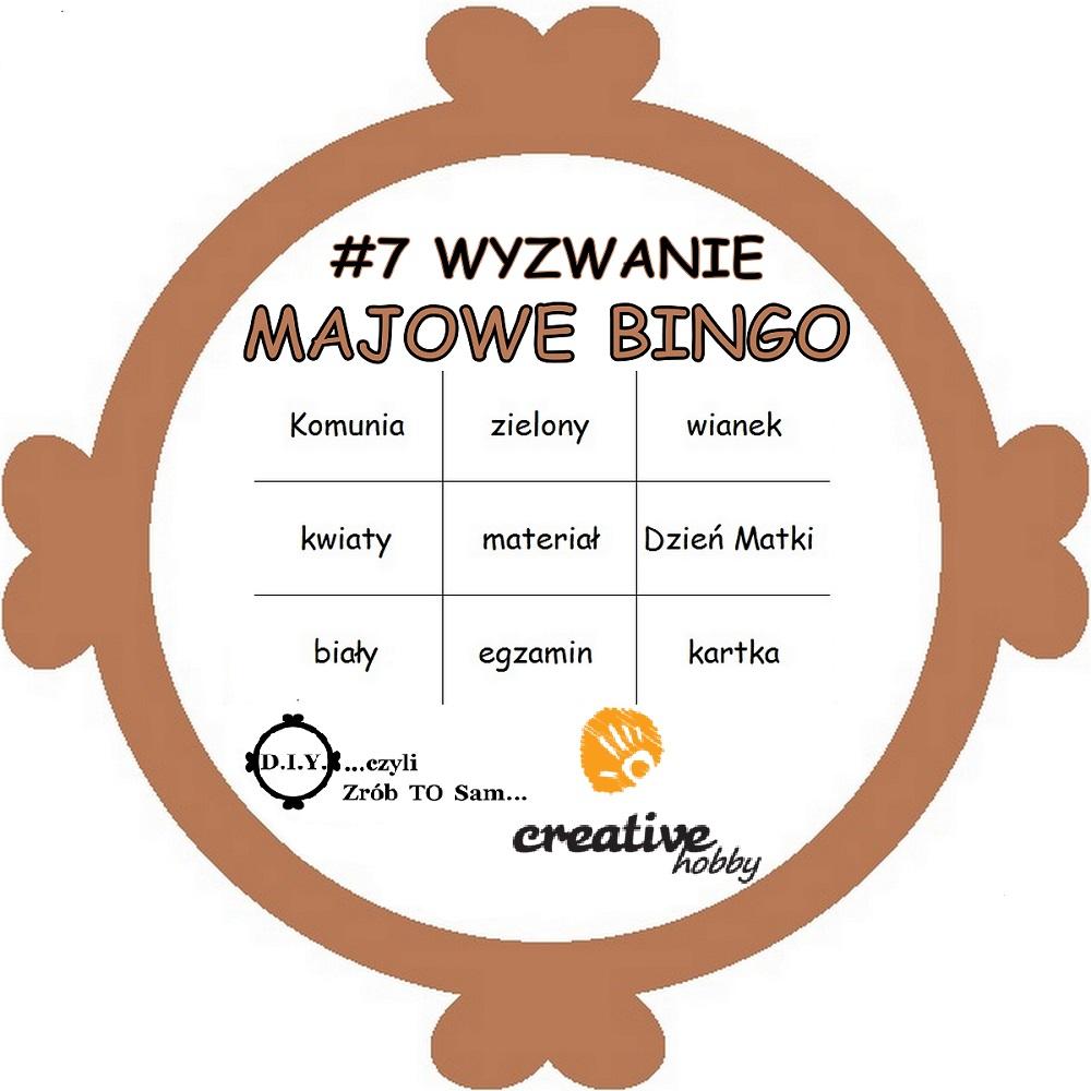 Majowe BINGO