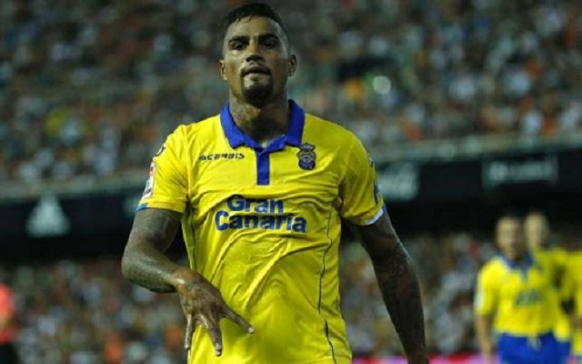KP Boateng scores in Spanish La Liga debut for Las Palmas