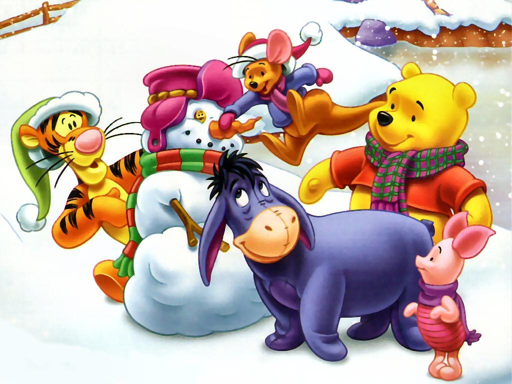 QQ Wallpapers: Disney Christmas Wallpapers Set 2