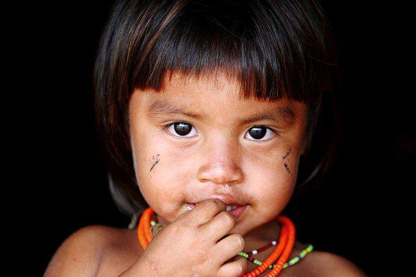 Resultado de imagem para índio criança